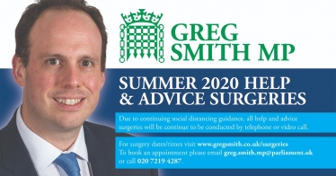 Greg Smith MP On-line Surgery Appointments
